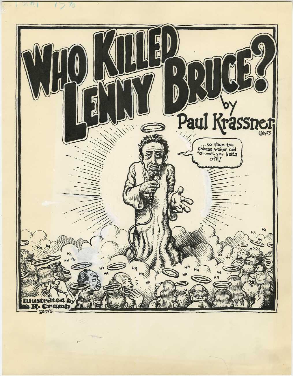 Lenny Bruce Poster